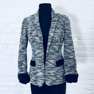 💙Banana Republic Heathered Grey Blazer MSRP $128!